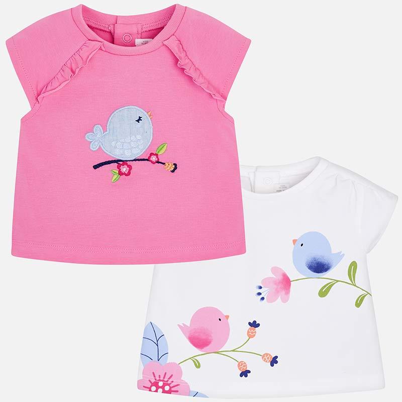 Set 2x tričko dívčí Mayoral – vel. 56